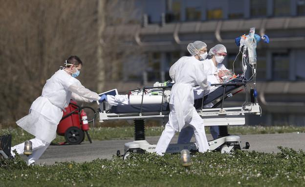 קורונה חולה מתים בית חולים