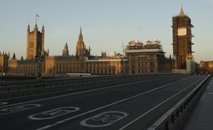 גשר ווסטמיניסטר היום (צילום: Matt Dunham, AP)
