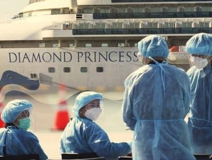 """מפחיד: חוקרים מצאו על """"ספינת הקורונה"""" שרידים פעילים של ה-COVID-19"""