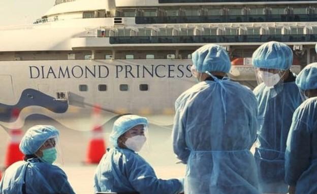 ספינת הקורונה (צילום: fernando_stwart, twitter)