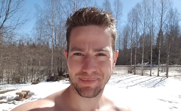הבקתה של אמיר זהבי בפינלנד