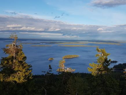 הבקתה של אמיר זהבי בפינלנד (צילום: אמיר זהבי | צילום פרטי)