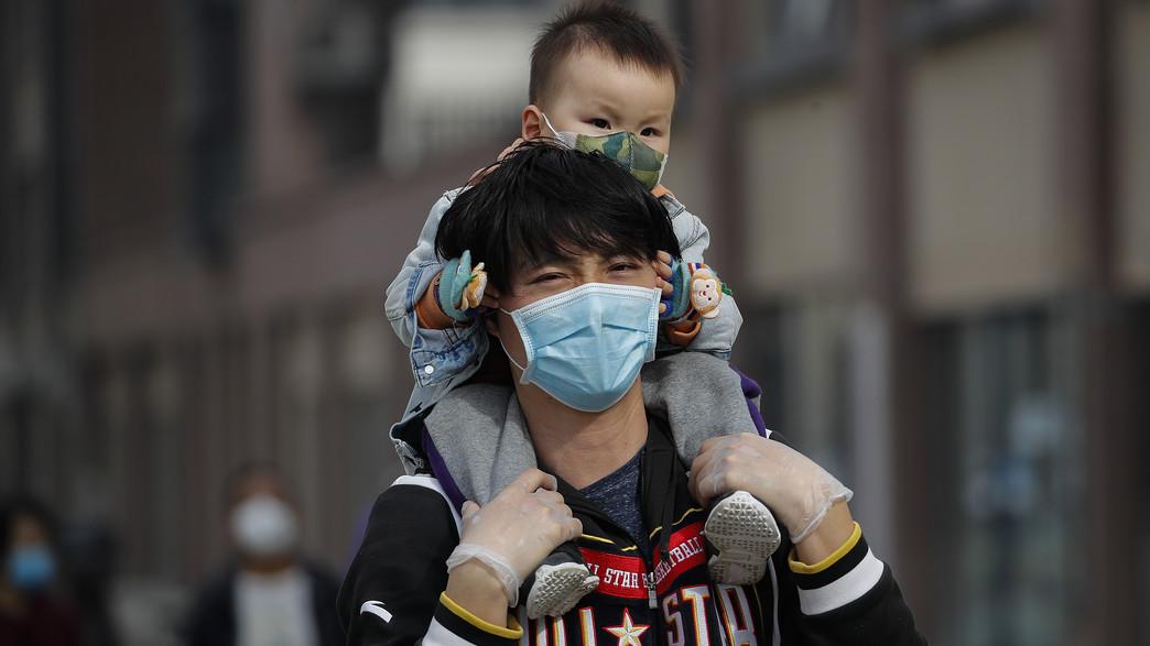 הקורונה בסין (צילום: AP)
