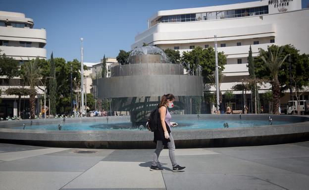 משבר הקורונה: נערכים לסגר בתל אביב (צילום: Miriam Alster/Flash90)
