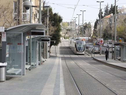 קורונה בישראל - ירושלים (צילום: אוליביה פיטוסי , פלאש 90)