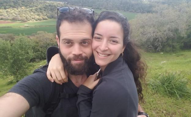 ניצן דונסקי ונדב לוי, עברו לגור ביחד בצל משבר הקור (צילום: ללא, D-MARS, המרכז הישראלי למשימות אנלוגיות במאדים)