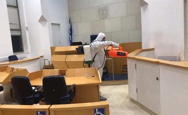חיטוי בית המשפט השלום בבאר שבע, היום