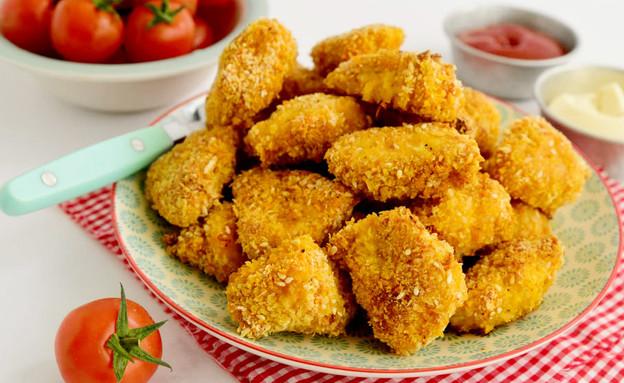 נאגטס עוף בתנור (צילום: שרית נובק - מיס פטל, אוכל טוב)