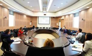 ועדת הקורונה (צילום: דוברות הכנסת ועדינה ולמן)