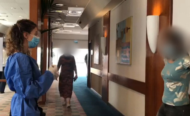 מלון הקורונה (צילום: N12)