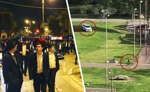 אכיפת המשטרה מול מפרי ההנחיות (עיבוד: באדיבות מחאות החרדים הקיצוניים, סעיף 27 א')