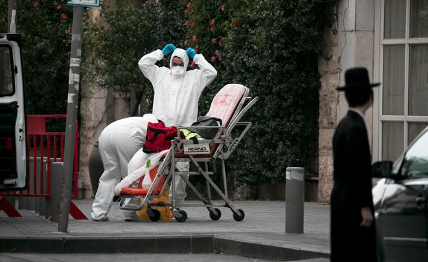 התמודדות עם קורונה בחברה החרדית (צילום: אוליביה פיטוסי , פלאש 90)