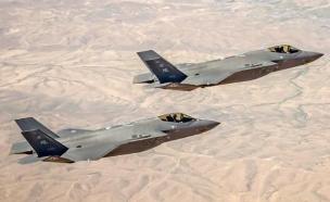 """מטוסי F-35 חמקן (צילום: דובר צה""""ל )"""