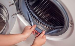 מכונת כביסה עם עובש (צילום: aleks333, Shutterstock)