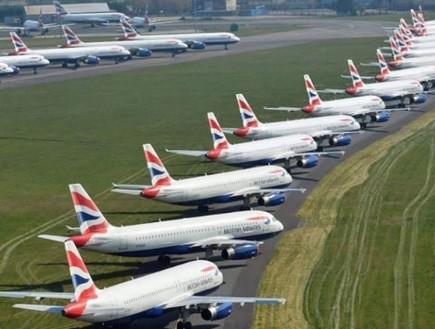 איפה חברות התעופה מאפסנות את המטוסים שלהן עכשיו?