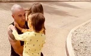רובי והילדים (צילום: instagram)