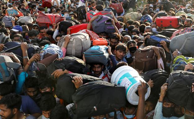 קורונה בהודו (צילום: רויטרס)