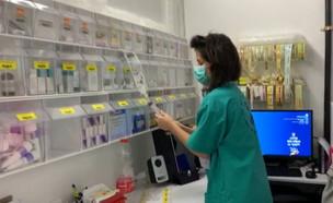 תיעוד המאבק במחלקות בבתי החולים (צילום: N12)