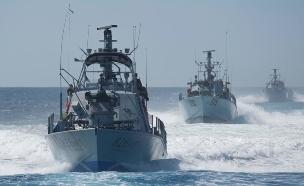 """ספינות חיל הים (צילום: דובר צה""""ל )"""