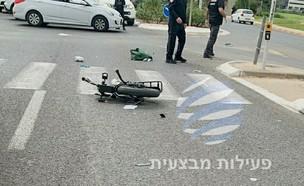 נער בן 15 נהרג  (צילום: פעילות מבצעית)