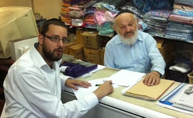 ישראל כהן וסבא שלו (צילום: ישראל כהן)