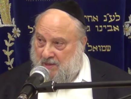 הרב מנדל קסין (צילום: יוטיוב )