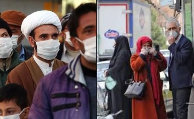 קורונה באיראן (צילום: S_E_Mirza, twitter)