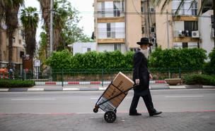 קורונה בישראל (צילום: תומר ניוברג, פלאש 90)