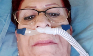 """חולת קורונה בת 63 החלימה וחזרה הביתה (צילום: מתוך """"חדשות הבוקר"""" , קשת 12)"""