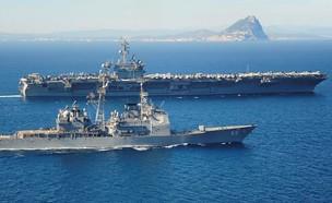 נושאת המטוסים (צילום: הצי האמריקאי, GettyImages)
