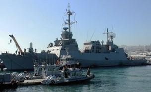 ספינת חיל הים (צילום: שי לוי)