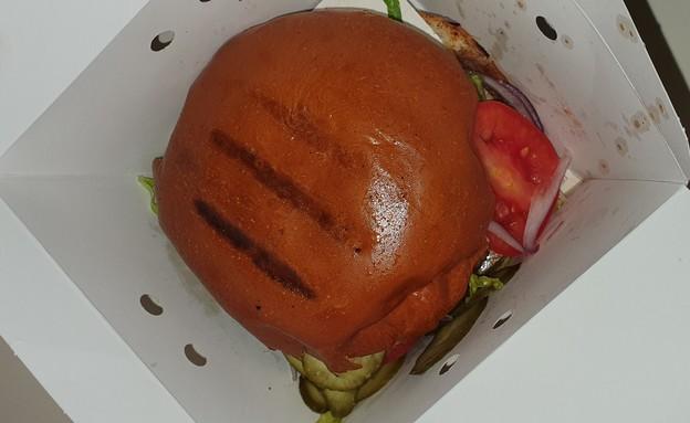 משלוח מהספרייה - המבורגר