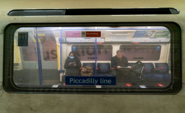 רכבת תחתית בלונדון (צילום: MingYeung gettyimages)