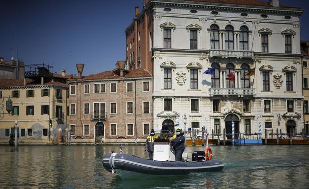 ונציה ריקה (צילום: AP)
