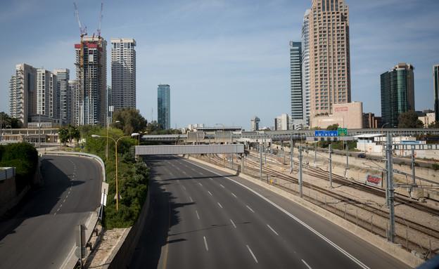 קורונה בישראל - איילון דרום ריק מנוסעים