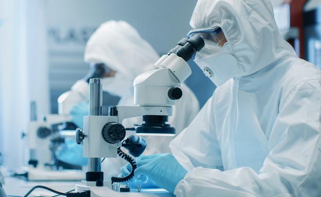 מדענים, קורונה (אילוסטרציה:  Gorodenkoff, shutterstock)