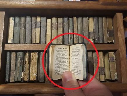 כוננית הספרים הסודית של סבא