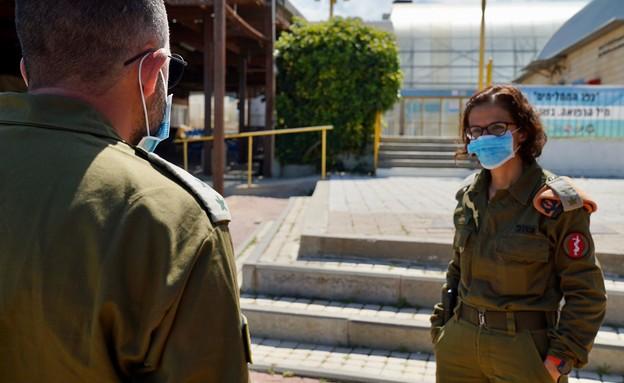 תיעוד ממלונית החיילים חולי קורונה (צילום: ללא, D-MARS, המרכז הישראלי למשימות אנלוגיות במאדים)