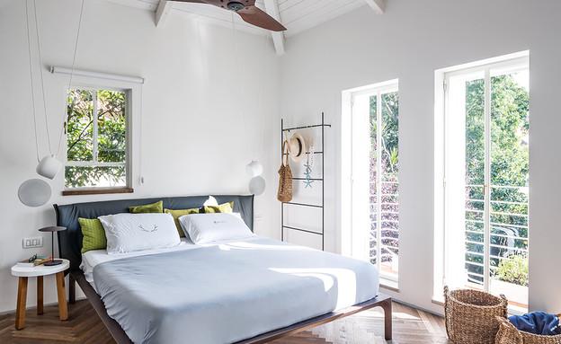 טל רוזין חדר שינה (צילום: שי אפשטיין)