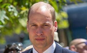יבקר בהר הבית ובכותל. הנסיך וויליאם (צילום: הלל מאיר/TPS, חדשות)