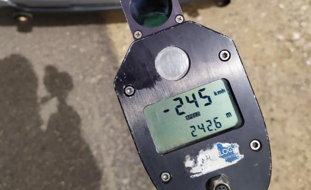 מכמונת מהירות - 245 קמ