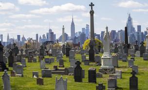 בית קברות בניו יורק (צילום: AP)