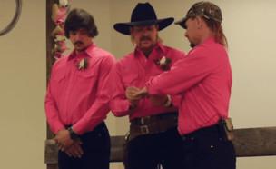 החתונה המשולשת של ג'ו אקזוטיק (צילום: יוטיוב )