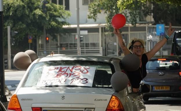 מחאת העצמאיים, תל אביב