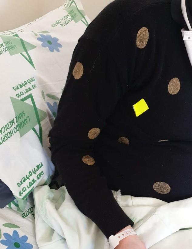 היולדת והמדבקה הצהובה בבית החולים לניאדו