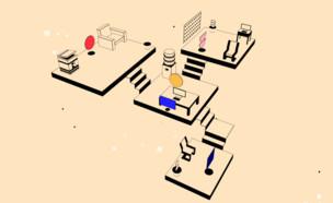 רעשי משרד (צילום: צילום מסך imisstheoffice.eu)