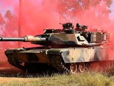 טנק של היחידה (צילום: Ian Hitchcock/Getty Images)