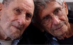 אריה איתמר ודוד שרל ברונשטיין  (צילום: החדשות 12)