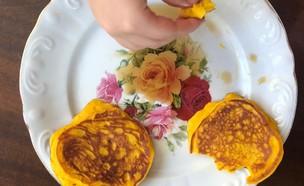 פנקייק הדלעת של אורנה ואלה (צילום: אורנה אגמון ואלה שיין , אוכל טוב)