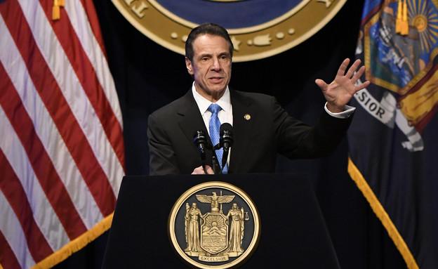 אנדרו קואומו מושל מדינת ניו יורק (צילום: AP / Hans Pennink)